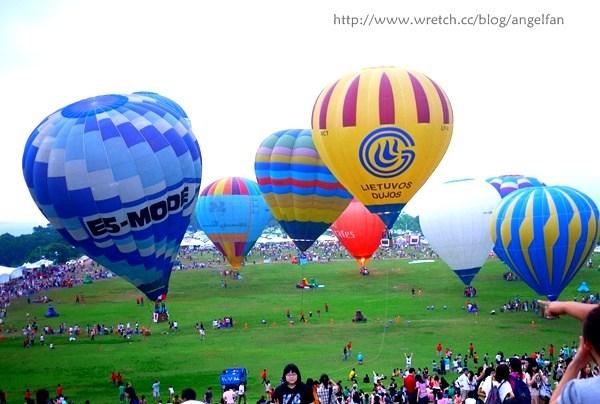 [台東旅遊景點] 鹿野熱氣球嘉年華,今夏夢想起飛 @小環妞 幸福足跡