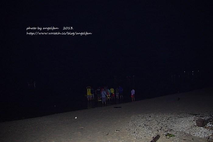 [小琉球夜遊行程] 夜遊潮間帶遇見美麗棋盤腳 ♥ 2013初夏小琉球 @小環妞 幸福足跡