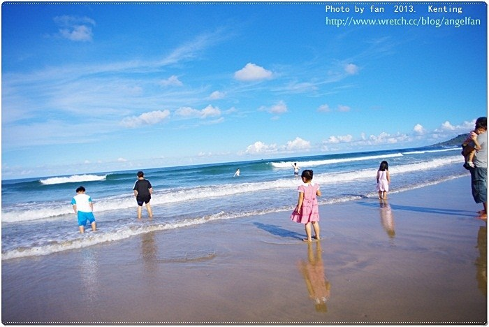【墾丁景點推薦】風吹砂風景區 ♥ 漂亮的沙灘 @小環妞 幸福足跡