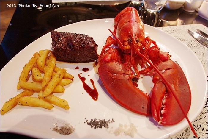 [台北美食]˙龍蝦牛排吃到飽,此生必吃一次 ♥ 君品酒店雲軒西餐廳 @小環妞 幸福足跡