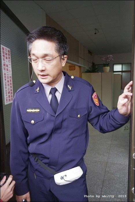 [台東關山警察局]˙排隊等著被關,超有梗大鬧警察局 @小環妞 幸福足跡