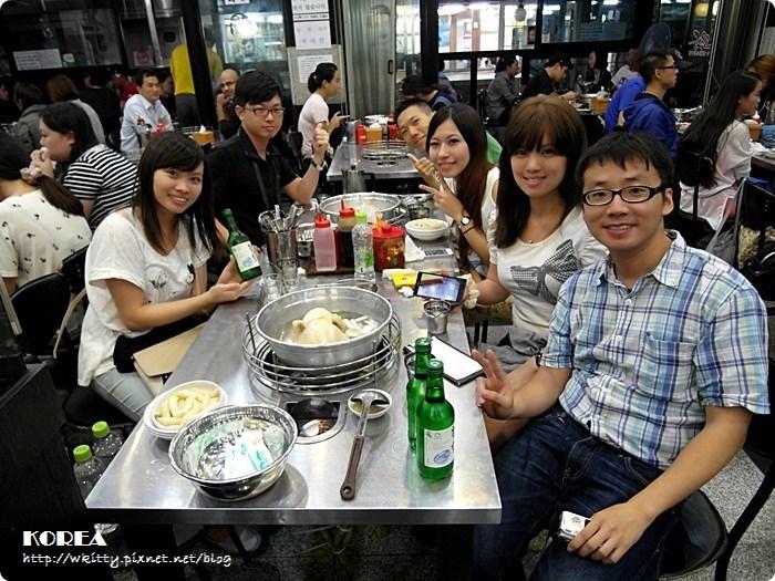 [韓國首爾美食] 陳玉華一隻雞 ♥ 來東大門必吃,蒜頭要加一大堆,2013首爾小旅行(5) @小環妞 幸福足跡