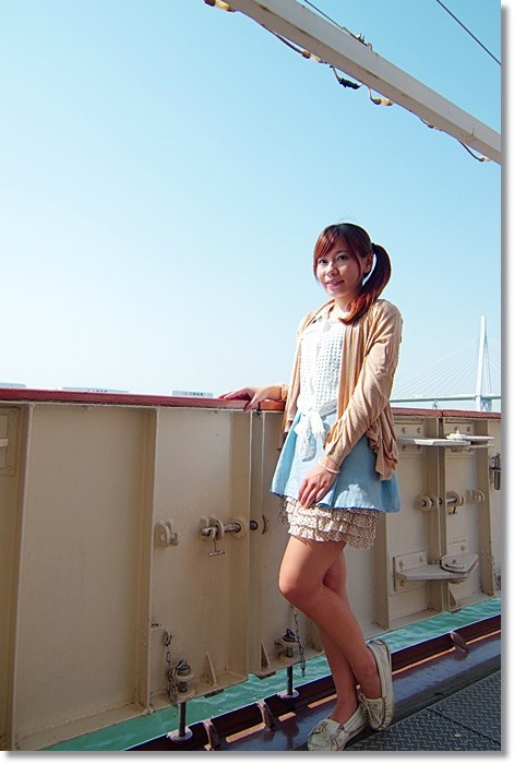 【大阪周遊卡】聖瑪麗亞號 * 跟著哥倫布發現新大陸(12) @小環妞 幸福足跡