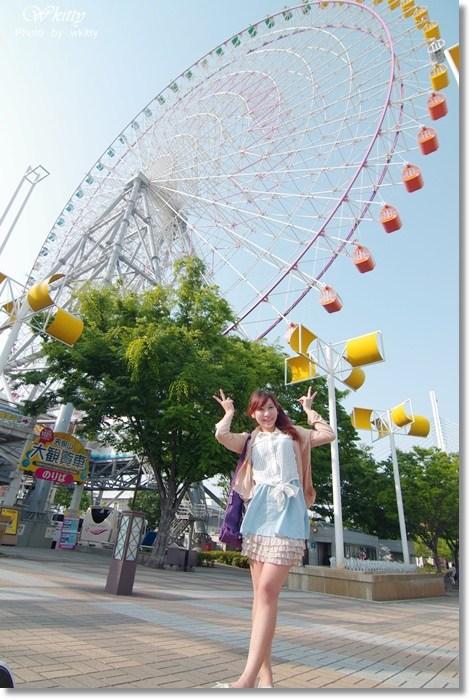 【大阪周遊卡】天保山摩天輪 * 彩色摩天輪眺望整個大阪港(13) @小環妞 幸福足跡