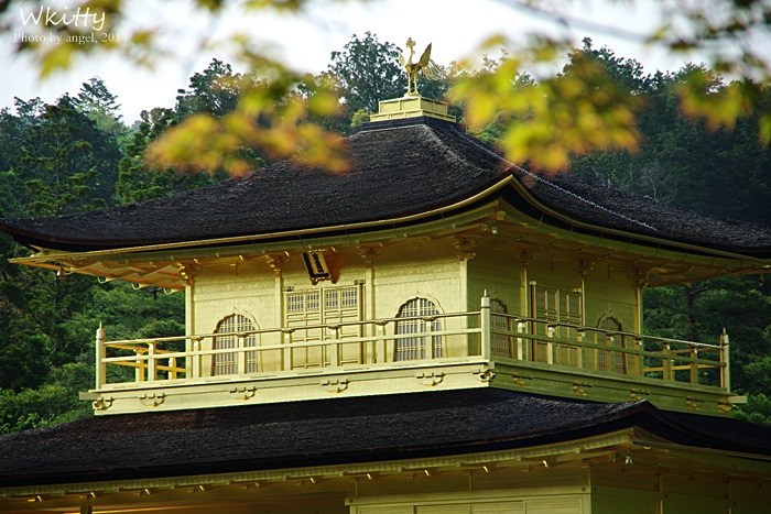 【京都景點】金閣寺,金光閃閃的美景!(23) @小環妞 幸福足跡