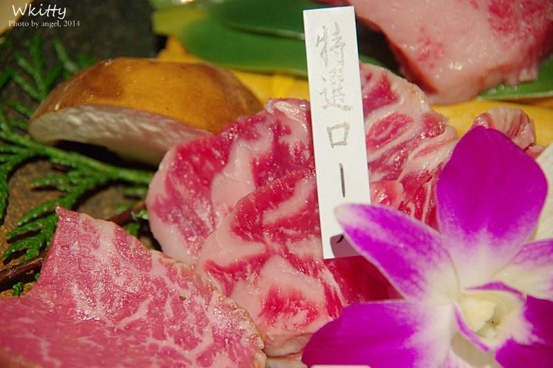 【大阪美食(26) 】松阪牛燒肉M,油脂分佈均勻色澤紅潤的頂級松阪牛!推薦! @小環妞 幸福足跡