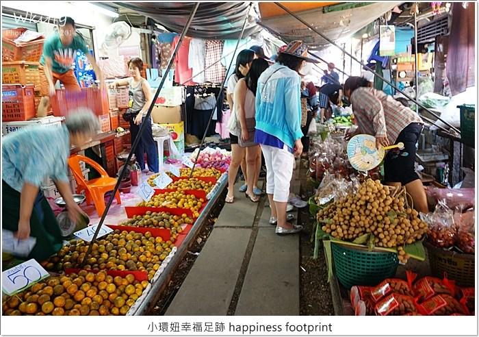 曼谷 火車市場,曼谷 美功市場,曼谷景點推薦,曼谷自由行,曼谷行程,美功鐵道市場 @小環妞 幸福足跡