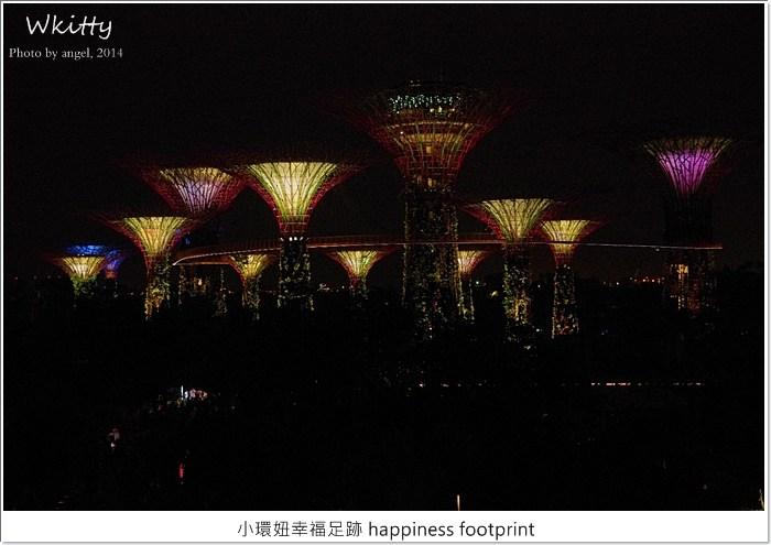 【新加坡自由行】超級樹燈光秀~好美!阿凡達電影場景重現! @小環妞 幸福足跡