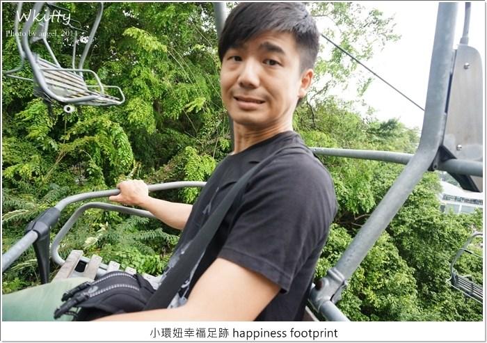 【新加坡景點(23)】斜坡滑車&空中吊車,聖陶沙必玩設施,好玩刺激! @小環妞 幸福足跡