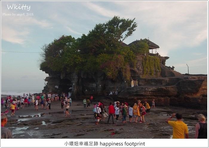 峇里島海神廟,峇里島自助,峇里島自由行,巴里島必去景點,巴里島行程,海神廟 退潮 @小環妞 幸福足跡