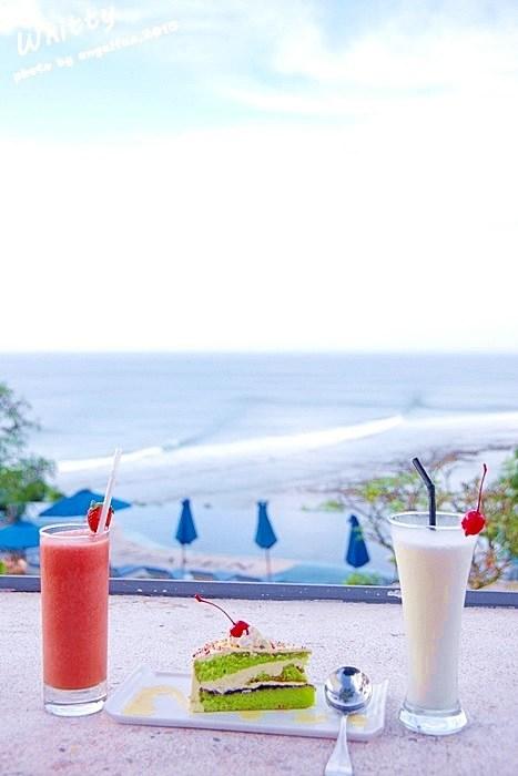 【峇里島餐廳推薦(23)】Blue Heaven 藍色天堂餐廳下午茶,超夢幻的無邊際泳池就是在這! @小環妞 幸福足跡