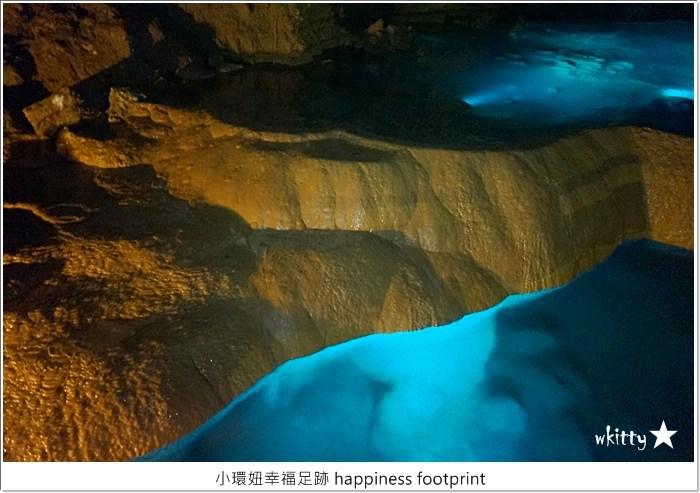 【沖繩玉泉洞】鬼斧神工的鐘乳石洞,沖繩自助旅遊景點推薦【10】 @小環妞 幸福足跡