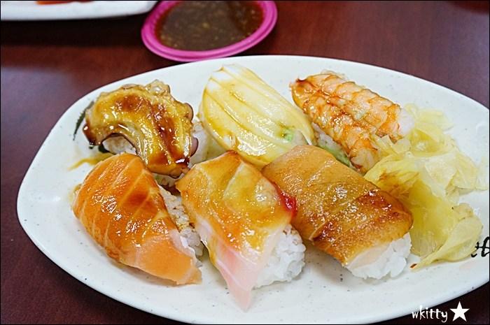 【嘉義美食推薦】根井壽司(體育館壽司),CP值超高的日本料理,在地人都捧場! @小環妞 幸福足跡