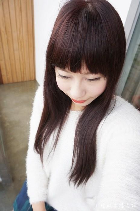【東區美髮-M:激賞髮型】冬天來個氣質的紫粽髮色,深髮色才是王道~ @小環妞 幸福足跡