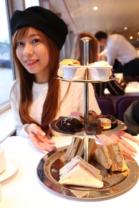 【英國倫敦景點】泰晤士河遊船下午茶,遊船+下午茶一次滿足 @小環妞 幸福足跡