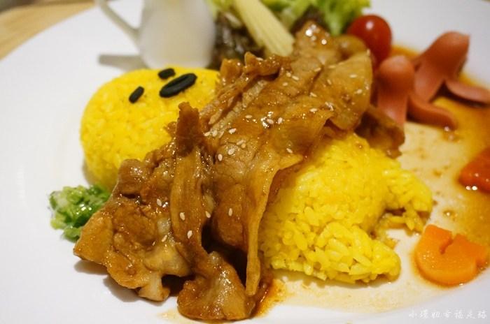 【台北蛋黃哥餐廳】蛋黃哥五星主廚餐廳,可愛主題美食怎麼捨得吃? @小環妞 幸福足跡