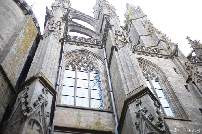 【聖米歇爾山一日遊】雄偉城堡世界遺產,法國巴黎近郊必訪景點 @小環妞 幸福足跡