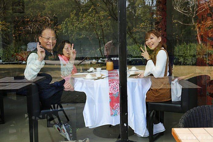 【苗栗三義餐廳】新月梧桐三義店,聚餐合菜不錯吃,白飯也太貴! @小環妞 幸福足跡