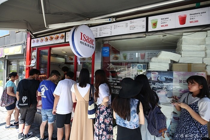 【韓國必吃早餐】Isaac吐司,分店超多間,號稱韓國的美而美 @小環妞 幸福足跡