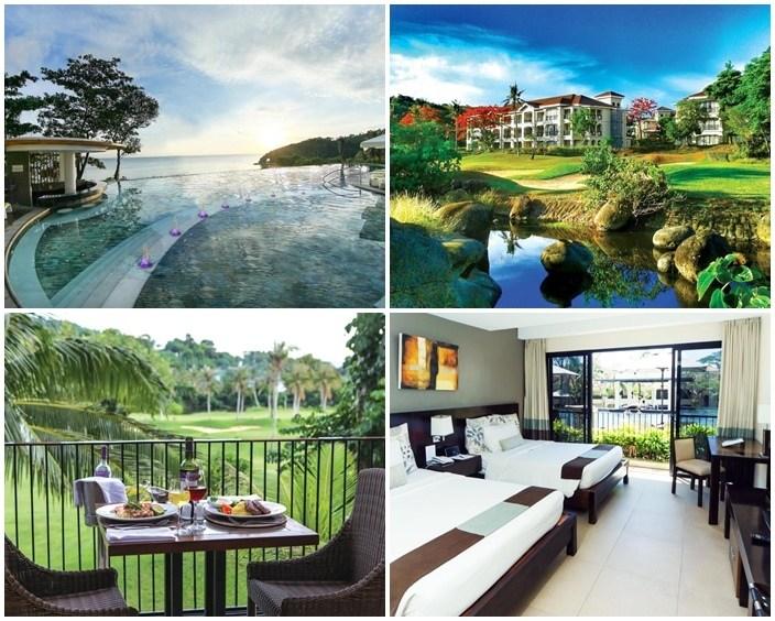 長灘島新海岸航道和藍水飯店