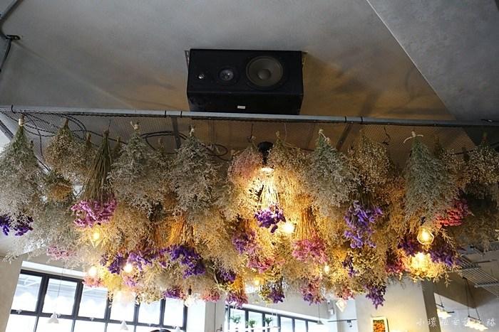 【花蓮乾燥花咖啡廳】奇幻地咖啡,夢幻的乾燥花相伴,網美必去 @小環妞 幸福足跡