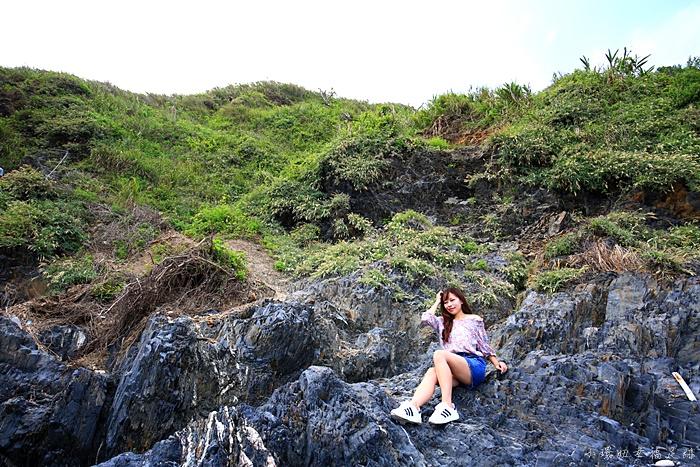 宜蘭玻璃沙灘,宜蘭秘境,玻璃沙灘,蘇澳景點,蘇澳秘境 @小環妞 幸福足跡
