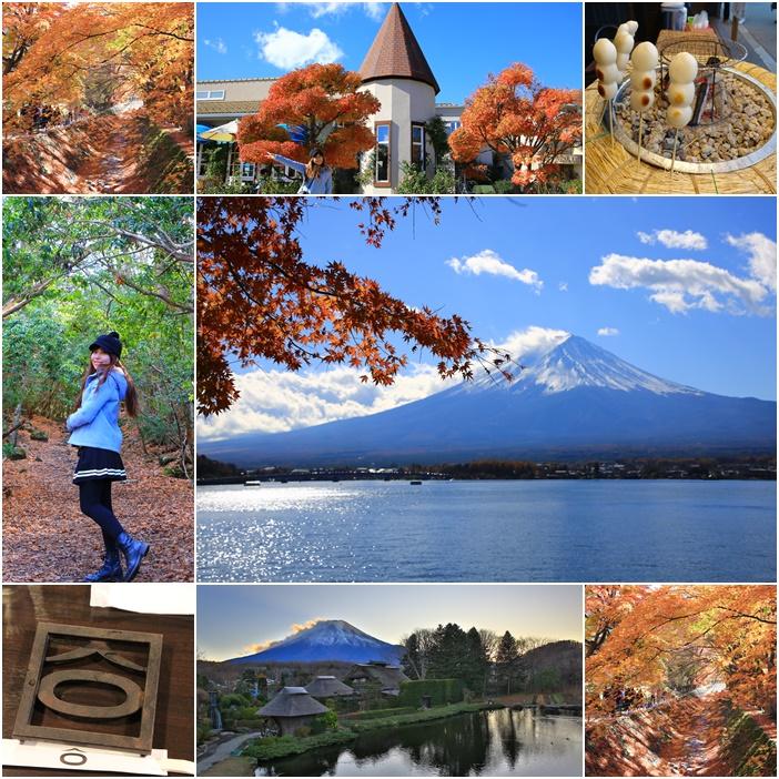 東京近郊懶人包,河口湖景點懶人包 @小環妞 幸福足跡