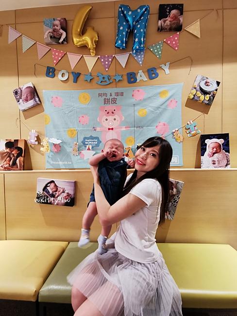 【收涎記錄】寶寶四個月收涎派對佈置,收涎餅乾,收涎饅頭,吉祥話分享 – 小環妞 幸福足跡