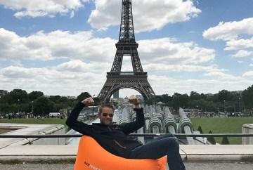 Inzending - Luieren bij de Eiffeltoren