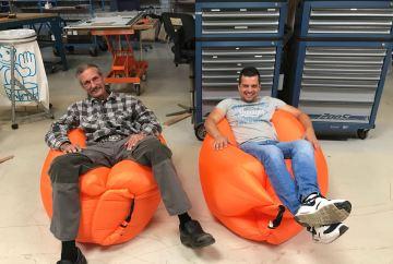 Inzending monteur Hans met Robert van 'Schieland-Broere Elektrotechniek'