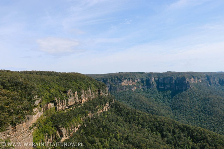 Błękitne Góry (Blue Mountains) w Australii