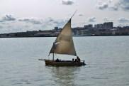 Zatoka Maputo - lokalna łódka
