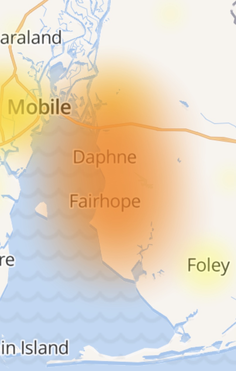 Att Uverse Outage Map : uverse, outage, Outages, Along, Eastern, Shore