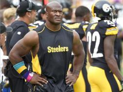 Steelers James Harrison AP
