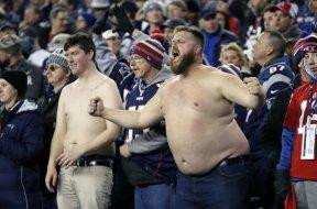 New England fans AP