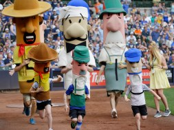 Mets Brewers Baseball