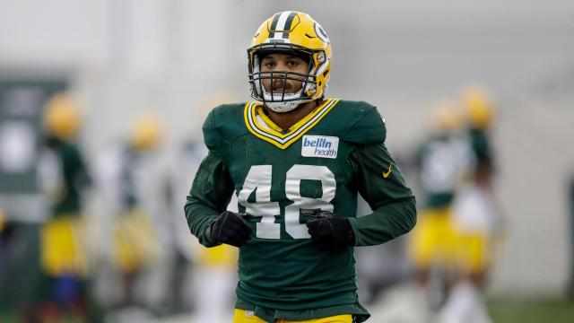 Newly acquired Packers linebacker Antonio Morrison.