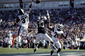 Rams defensive backs Shields AP