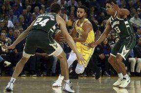 Warriors Curry Bucks Brogdon AP