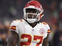 Chiefs Kareem Hunt AP