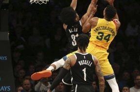 Giannis v Nets Allen AP