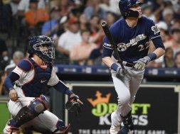 Brewers Christian Yelich HR Astros