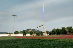 UWL football stadium goal posts
