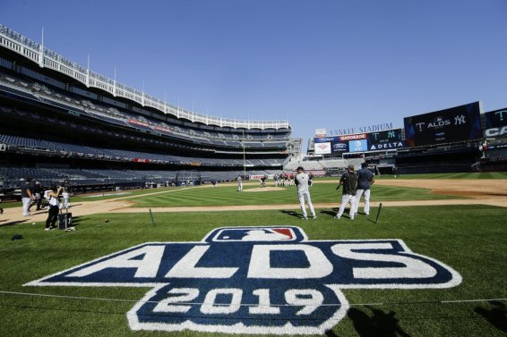 Twins Yanks ALDS AP