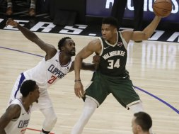 Bucks Giannis vs. Clippers Beverley AP
