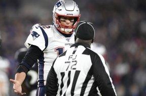 Patriots Tom Brady refs AP
