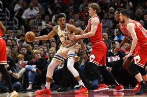 Giannis v Bulls AP