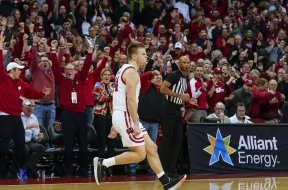 Badgres Brad Davidson celebrate v Maryland AP