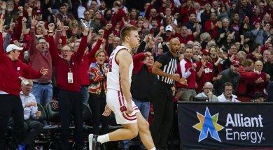 Badgres Brad Davidson celebrate v Maryland AP