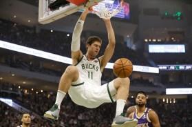 Suns Bucks Basketball